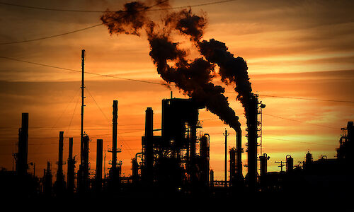 Pollution from fossil fuels